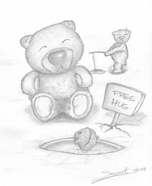 Free Hug par William Jautée